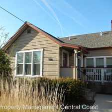 Rental info for 586 Pacific Street in the San Luis Obispo area