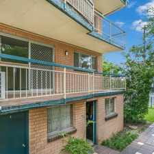 Rental info for Beautiful top floor unit with city views & two car spaces! in the Coorparoo area