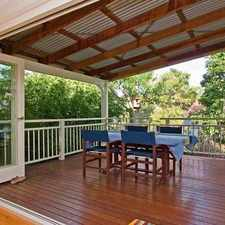 Rental info for BEAUTIFULLY RENOVATED 2 LEVEL QUEENSLANDER -