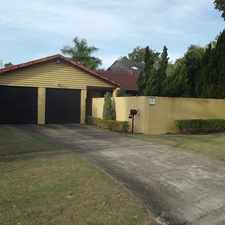 Rental info for WATERFRONT HOME WITH POOL in the Gold Coast area