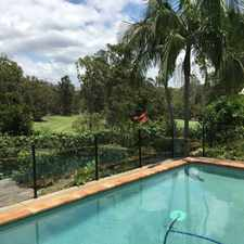 Rental info for OVER LOOKING GOLF COURSE WITH INGROUND POOL in the Gold Coast area