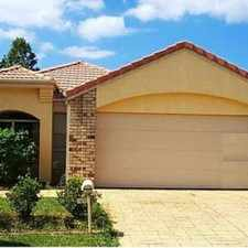 Rental info for LARGE PET FRIENDLY HOME IN ROBINA in the Gold Coast area