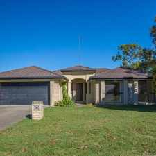 Rental info for SPACIOUS FOUR BEDROOM FAMILY HOME in the Upper Coomera area