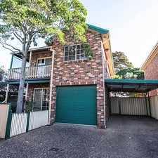 Rental info for SHELLHARBOUR VILLAGE BEAUTY in the Wollongong area