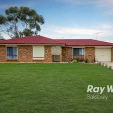 Rental info for Neat & Tidy 3 Bedroom Family Home