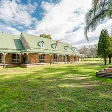 Rental info for Family home, granny flat + 5 level acres in the Sydney area