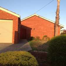 Rental info for QUIET COURT LOCATION - IDEAL FAMILY HOME in the Melbourne area
