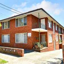 Rental info for INNER WEST LIVING - DEPOSIT TAKEN in the Dulwich Hill area