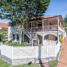 Rental info for Gorgeous Queenslander Home in the Brisbane area