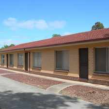 Rental info for SALISBURY - 2 BEDROOM UNIT in the Adelaide area