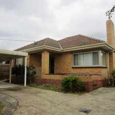 Rental info for Spacious and renovated front home. in the Frankston area