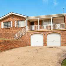 Rental info for Great Family Home with Views in the Wollongong area