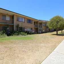 Rental info for WALK TO THE CAFE, PUBLIC TRANSPORT & EVEN THE GOLF COURSE! in the White Gum Valley area