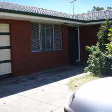 Rental info for Spacious duplex with courtyard - massive value here! New wardrobes