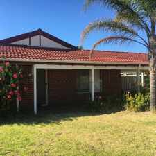 Rental info for Great Quiet Location in the Coodanup area