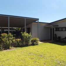 Rental info for This 3 bedroom home is situated in a family friendly area of South Hedland. Approved Application