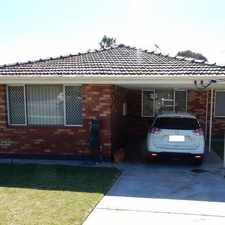 Rental info for 2 Bedroom Duplex in the Perth area