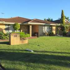 Rental info for FABULOUS FAMILY HOME in the Perth area