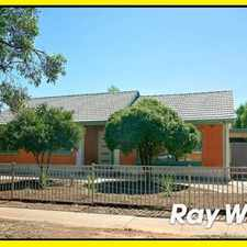 Rental info for 3 Bedroom e with Large Back yard **PRICE REDUCED***