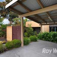 Rental info for Two bedrooms with cooling in central Mitcham