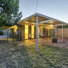 Rental info for FAMILY FRIENDLY HOME WHERE PETS ARE WELCOME!! in the Maddington area