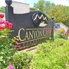 Rental info for Canyon Creek in the Dallas area