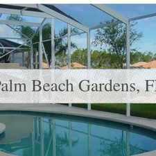 Rental info for 4 Bed, 3 Bath, Safe Neighborhood. Washer/Dryer ... in the Palm Beach Gardens area