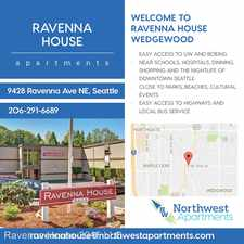 Rental info for 9428 Ravenna Ave NE in the Seattle area