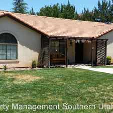 Rental info for 1296 W 960 S Circle