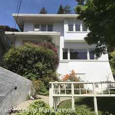 Rental info for 139 Parkside Drive in the Oakland area