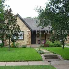 Rental info for Dallas - 5327 McCommas - SMU and Lower Greenville in the M Streets area