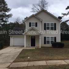 Rental info for Lovely Two Story Home In Clayton