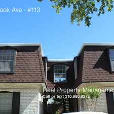 Rental info for 1045 Shook Ave in the San Antonio area
