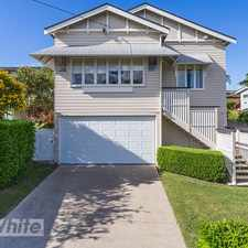 Rental info for RENOVATED GORGEOUS FAMILY HOME! in the Brisbane area