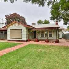 Rental info for Family Home in Eleventh Street in the Mildura area