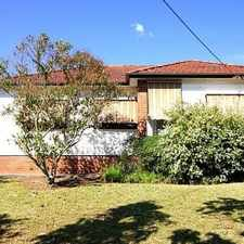 Rental info for Modern and Convenient in the Sydney area