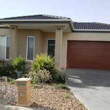 Rental info for Family home in Featherbrook in the Point Cook area