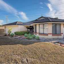 Rental info for LARGE 4X2 HOME in the Success area