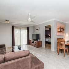 Rental info for Charming 3 bedroom Villa with private outside entertaining in the Belmont area