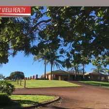 Rental info for 4 x 2 Secure property set within a beautiful equestrian property.