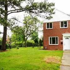 Rental info for *New Pics & Price!* ~7823 Hillsway Ave~ (21234-COUNTY-Parkville) 3Bd/1Ba Renovated End of Group Townhome for Rent-To-Own $1,495.00/mo in the Parkville area