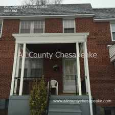 Rental info for 206 Westshire Rd in the Baltimore area