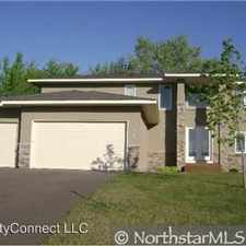 Rental info for 5001 102nd Trail in the Coon Rapids area