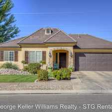 Rental info for 3420 South 2620 East