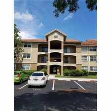 Rental info for 101 Southwest 117th Avenue #7301 in the Pembroke Pines area