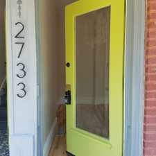 Rental info for 2733 Accomac in the Fox Park area