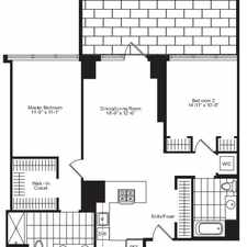 Rental info for $7080 2 bedroom Apartment in Capitol Hill in the Washington D.C. area