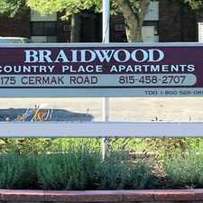 Rental info for Braidwood- Country Place