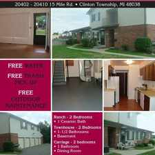 Rental info for 20402 15 Mile Rd 20402 & 20404