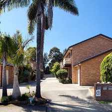 Rental info for Fresh 2 Bedroom Townhouse in the Albion Park Rail area
